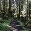 Setting out on the Saddle Mountain Trail.