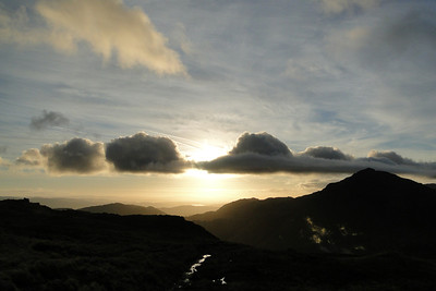 Bow Fell, Esk Fell & Sca Fell Pike - October 2011