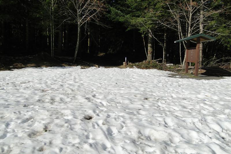 The Grouse Vista trail head.