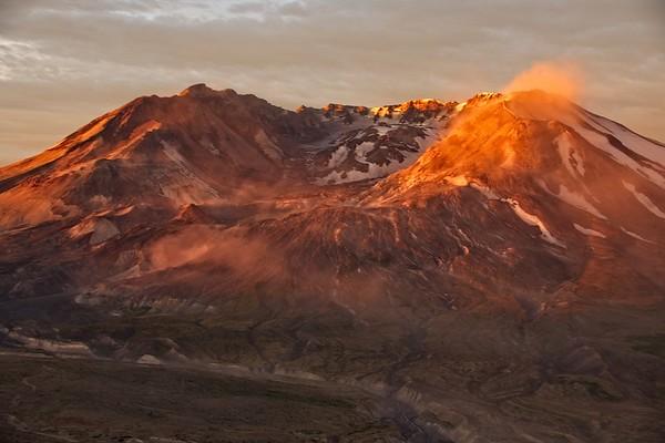 Volcano Sunrise!