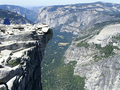 Yosemite - Half Dome from Glacier Point - 2014/07/05