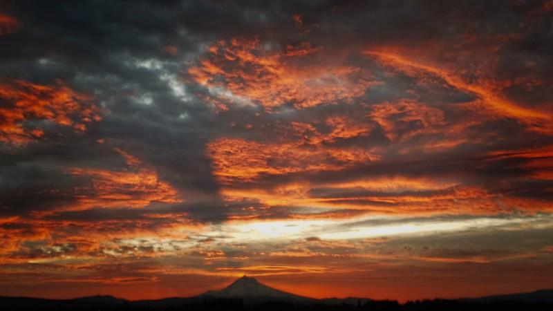 Another  Hoodacres sunrise!