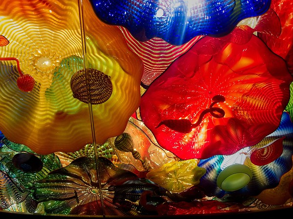 Chihuly Glass, Seattle