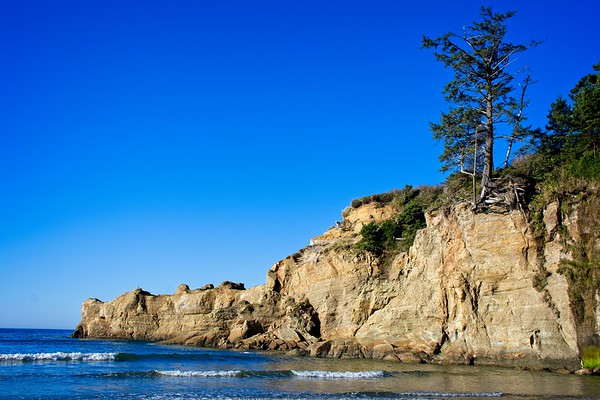 Devils Punchbowl to Yaquina Head - Beverly Beach