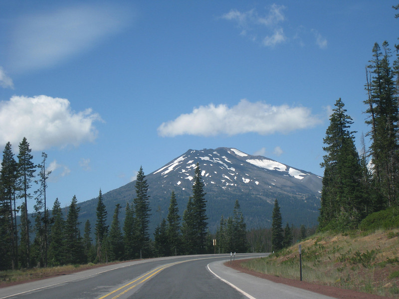 Mt Bachelor from the Cascade Lake Highway. <FONT SIZE=1>© Chiyoko Meacham</FONT>