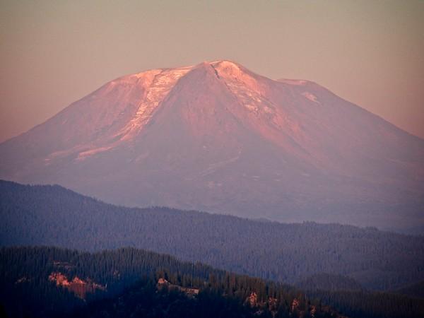 Mt St Helens - Windy Ridge dinner & Sunset