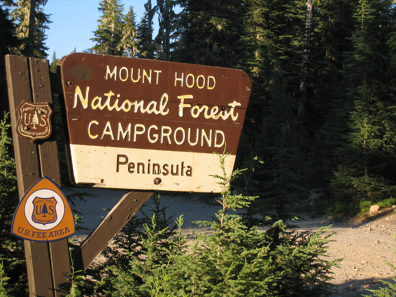 We stayed at the Peninsula Campground  <FONT SIZE=1>© Chiyoko Meacham</FONT>