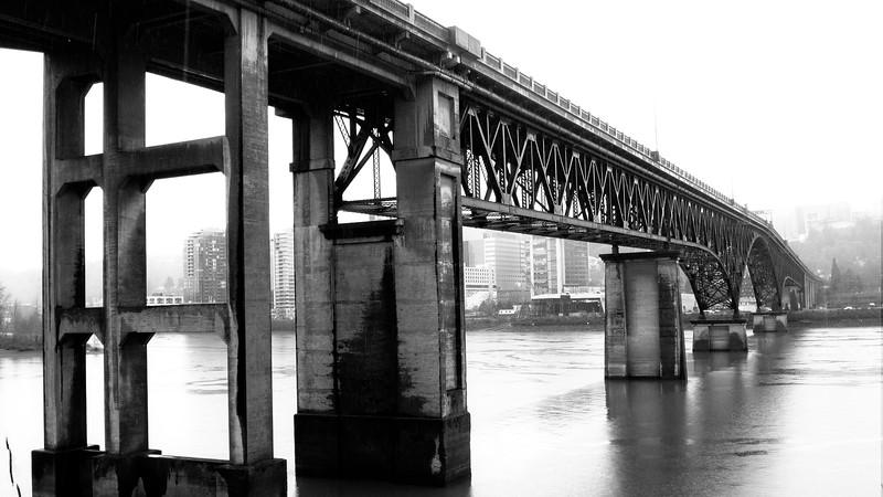 The Ross Island Bridge