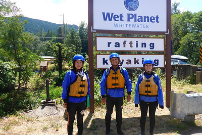 Rafting the White Salmon River - 2014/07/20
