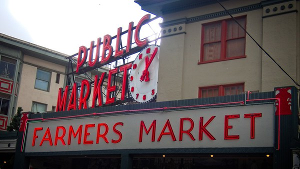 Seattle Trip - Pike Place Market