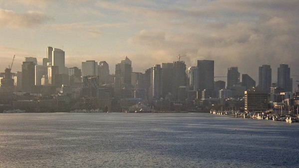 Seattle from Gasworks Park.