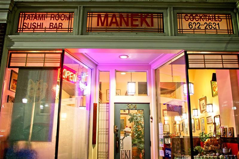 Maneki for dinner!