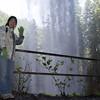 Mariko, behind South Falls