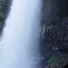 Behind Lower Falls