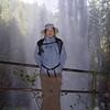 Chiyoko, behind South Falls.