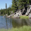 +/- 9 miles Dumbell Lake<br /> This a was beautiful spot - nobody camping here.