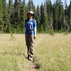 Now heading north on the PCT