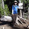 4 miles: Trail junction to Senoj Lake