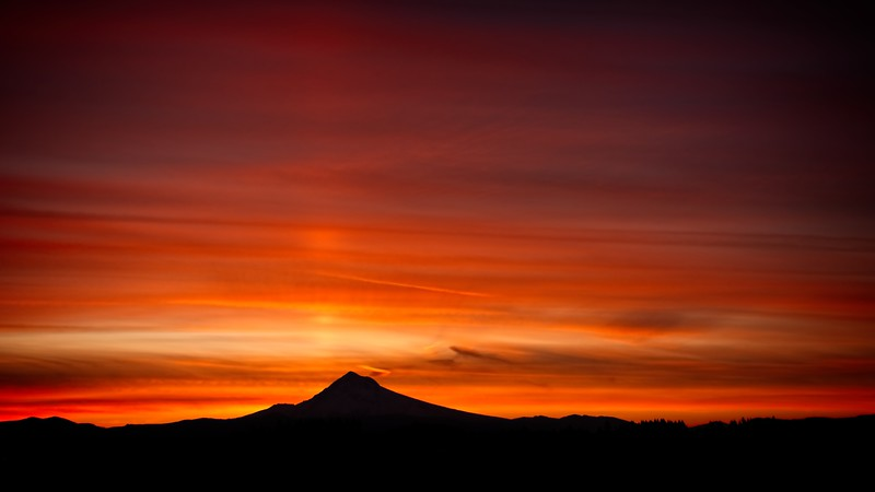 Sunrise From Work.