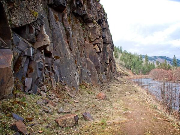 The Klickitat Haul Road.