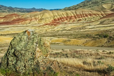 The Painted Hills - Evening Photos
