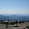 Looking South over Timberline Lodge <FONT SIZE=1>© Chiyoko Meacham</FONT>