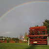 After a drive from hell up I84 in torrential rain a <B>short</B> respite & a rainbow!