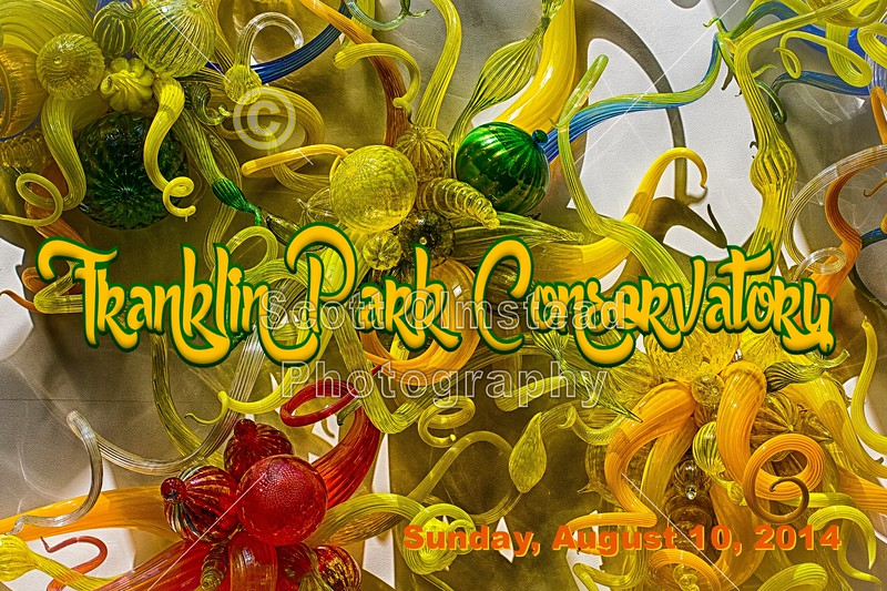 The Franklin Park Conservatory is located in Columbus, Ohio - Sunday, August 10, 2014