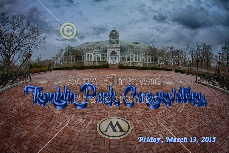 Franklin Park Conservatory is located in Columbus, Ohio - Friday, March 13, 2015