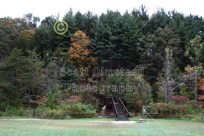 Hocking Hills State Park located in Ohio - Sunday, October 3, 2010