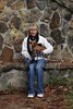 """Lisa and """"The Peanut"""" - Hocking Hills State Park located in Ohio - Sunday, October 3, 2010"""