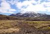 12:47 Þegar ég lagði af stað frá stæðinu voru skýjaslææður á hæstu tndum, þannig hélst veðrið en létti þó til frekar en hitt.