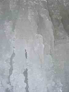 Icicles with flash