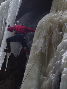 ... foot on the icicle