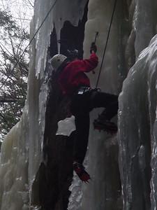 ... climbing