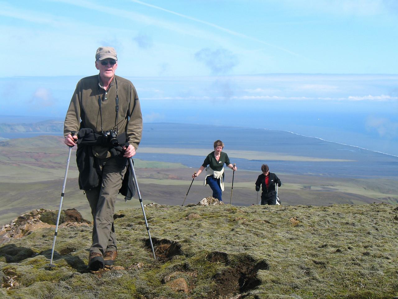 Guðni, Emilía og Friðrik ná toppnum.