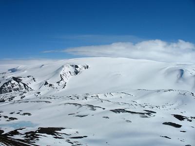 Geitlandsjökull, ekki þekki ég nafn þessa skriðjökuls.