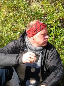Háæruverðugur fararstjórinn Hákon.