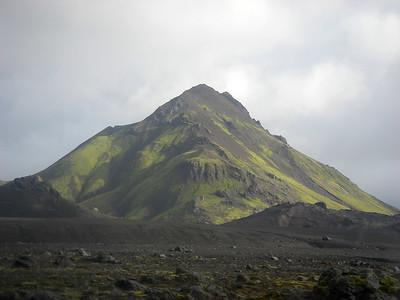 Stóra-Súla í allri sinni dýrð.