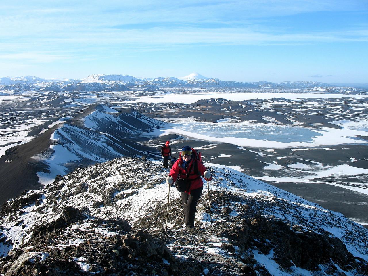 Tommi og Gerður nálgast toppinn