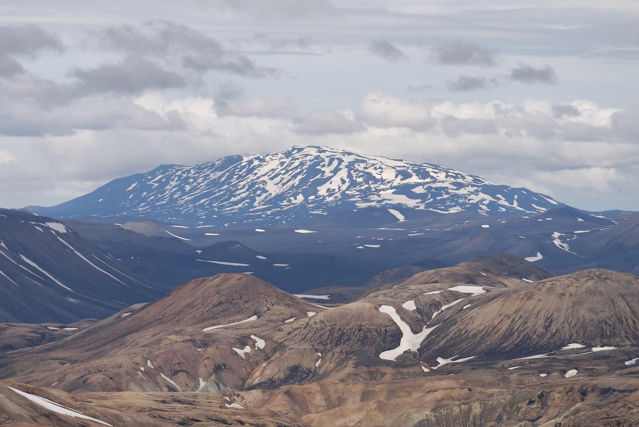 Dagur 2, 12:43. Hekla séð af Háskerðingi.