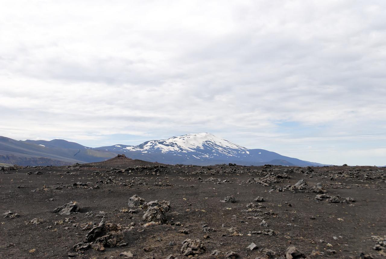 Dagur 1, 11:11. Hekla - við erum hér á Dómadalsleið.