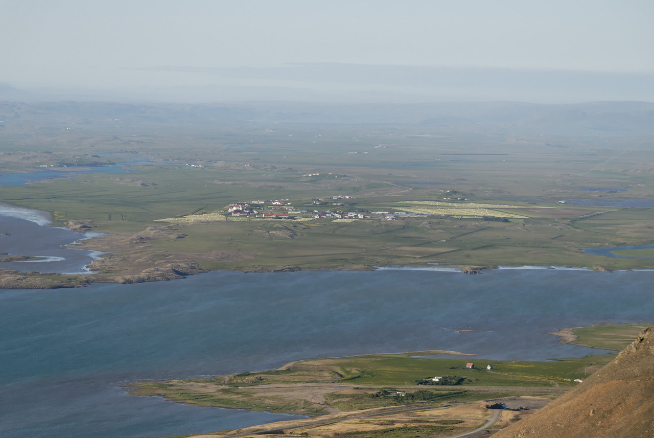 19:49 Þéttbýliskjarninn að Hvanneyri