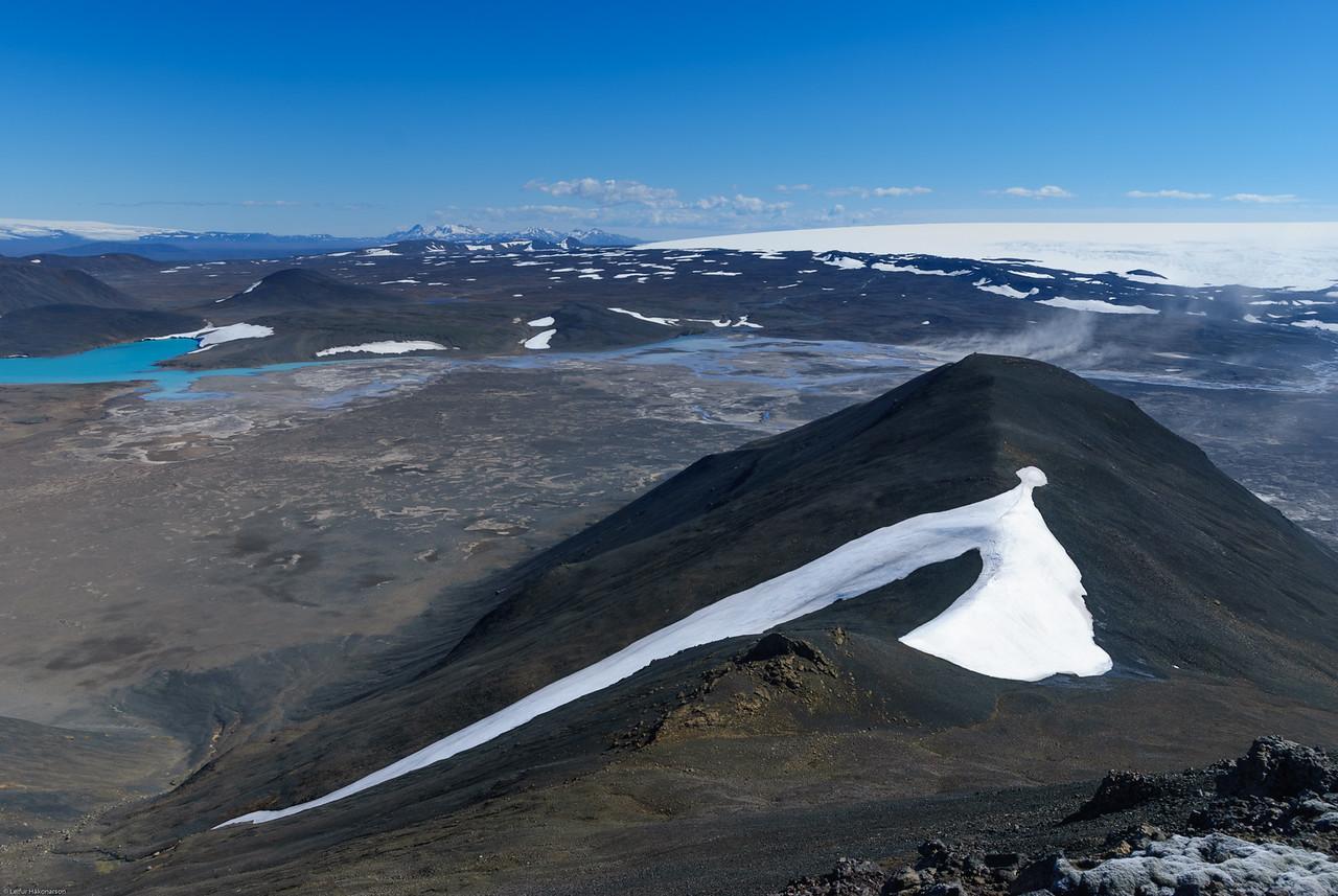 Kerlingarfjöll og Langjökull