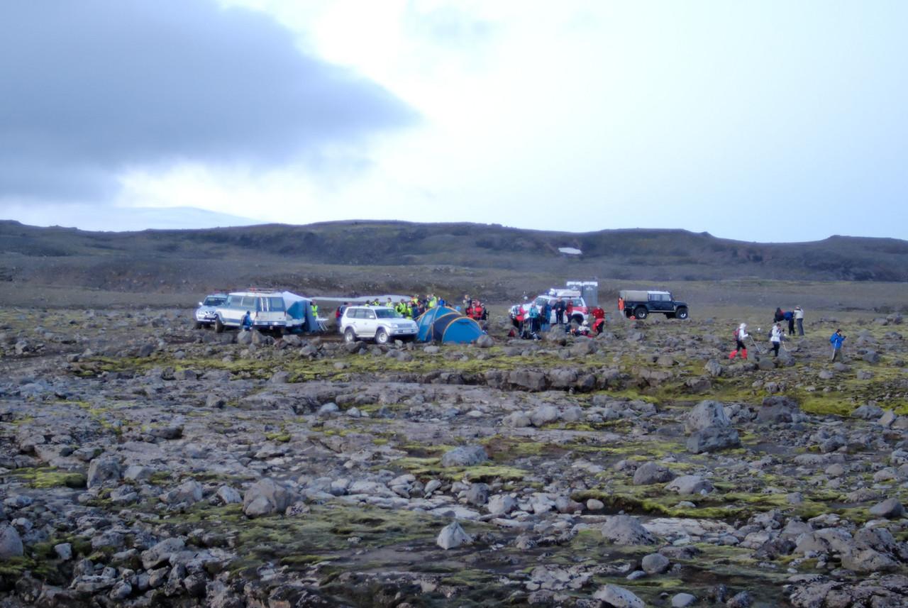 01:05 - Góðar móttökur við vaðið eins og venjulega.