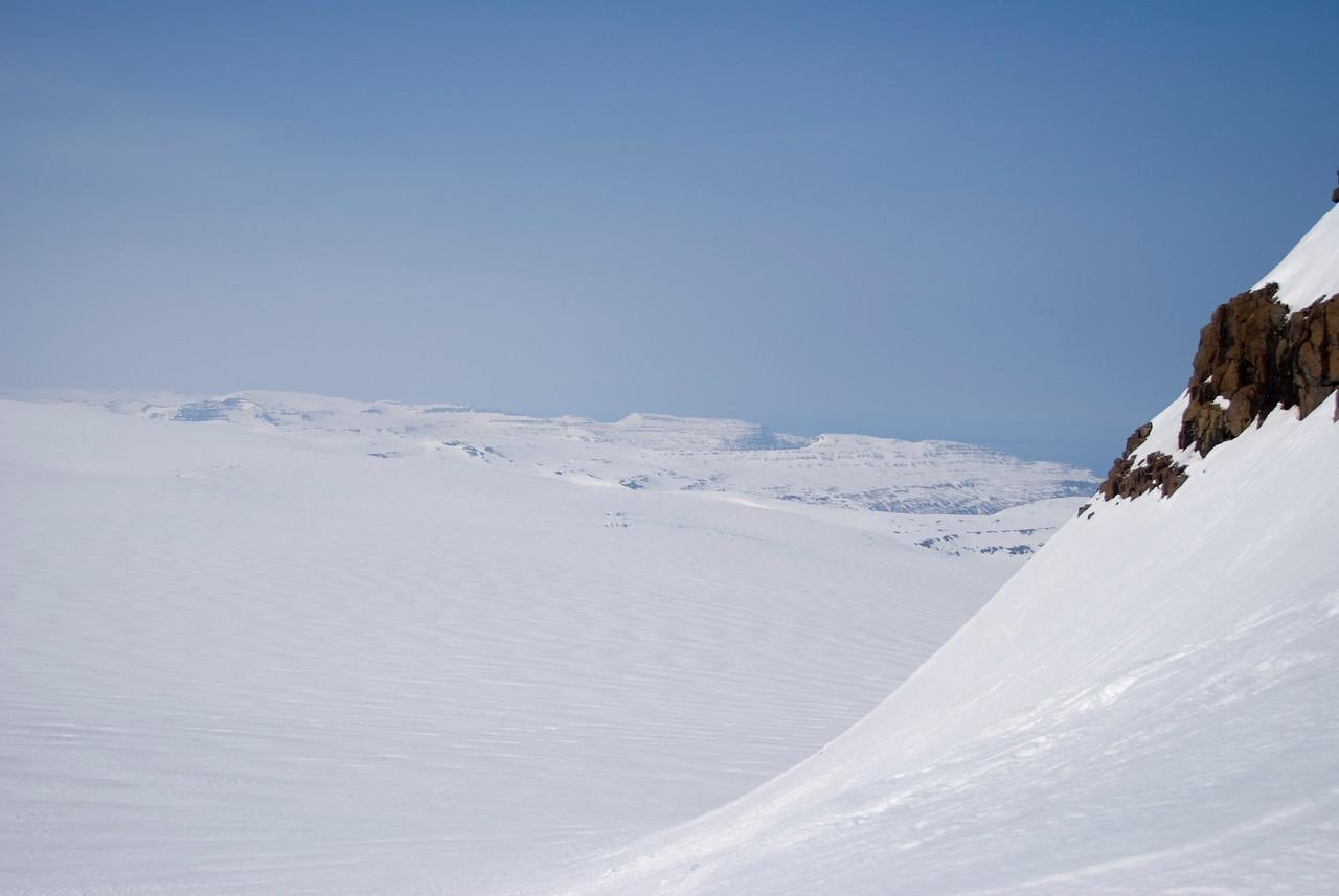15:05 Útsýni norður Strandir.