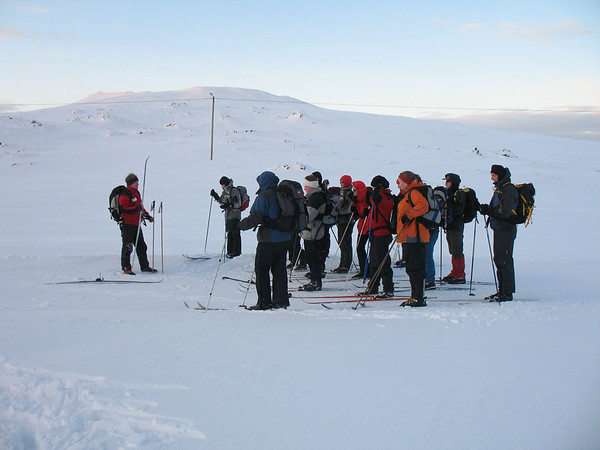 Skíðaferð Útivistar 14.01.2007