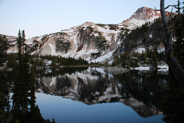 Eagle Cap Wilderness Mirror Lake