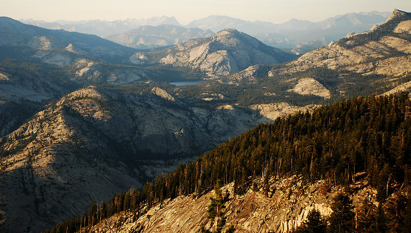 2009-08 Yosemite - Day 3, Tenaya Lake to Clouds Rest