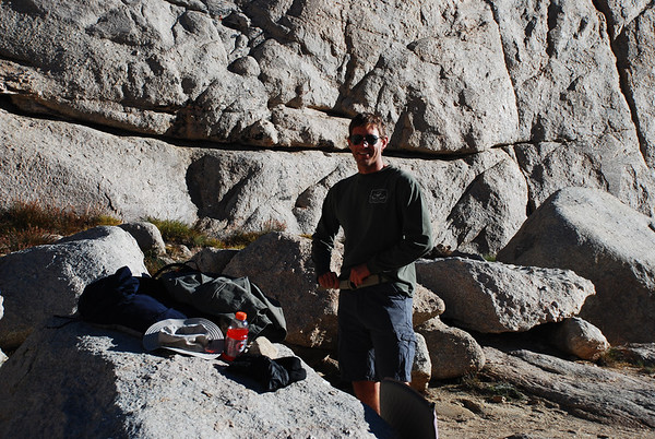 2010-08 Mt. Whitney, Day 2 - Trail Camp to Summit